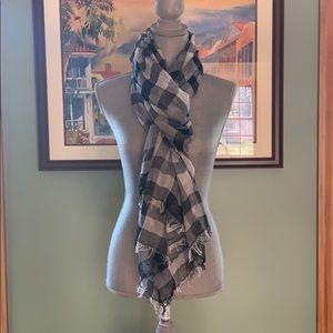 Ann Taylor LOFT checkered scarf
